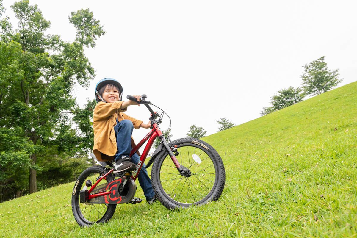子どもと一緒に自転車にのろう|子ども自転車、三輪車ならアイデス
