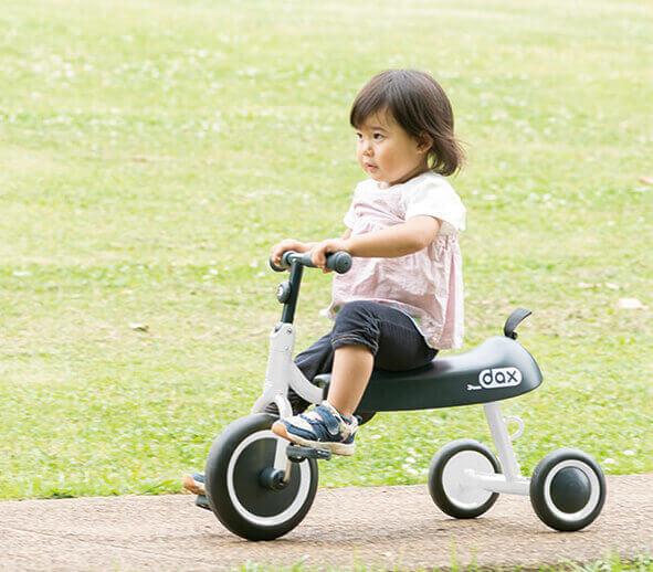 【2才向け】おすすめの人気三輪車3選|三輪車ならアイデス