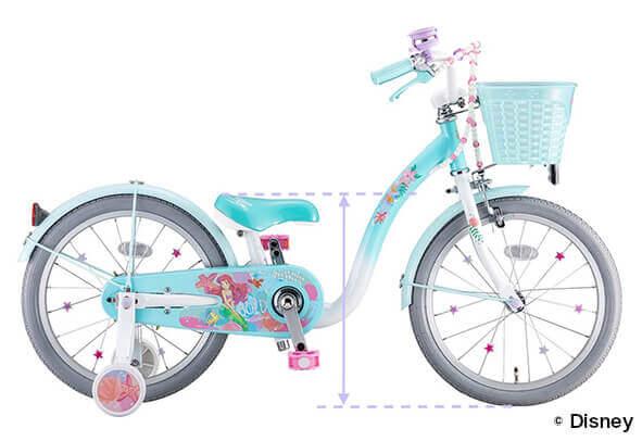 低床フレーム設計を表した自転車